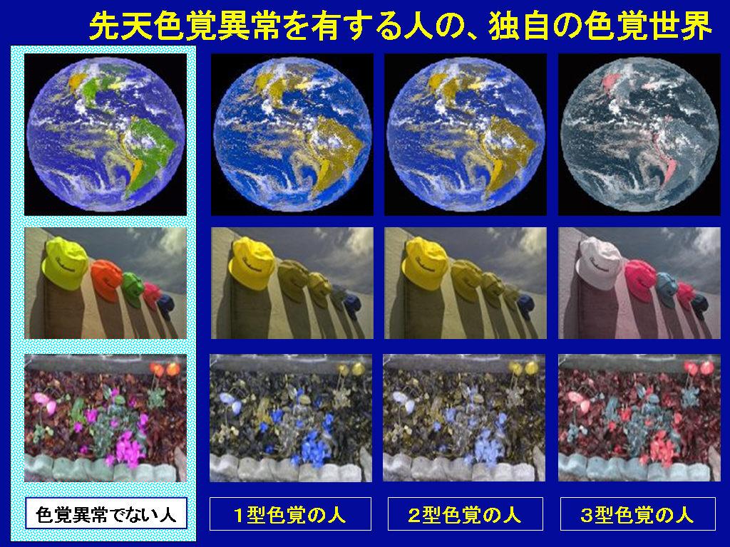 障害 色覚 日本人男性の20人に1人。「色覚障がい」を見分けるテスト
